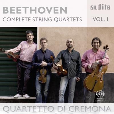 弦楽四重奏曲第16番、第11番『セリオーソ』、第6番 クレモナ四重奏団