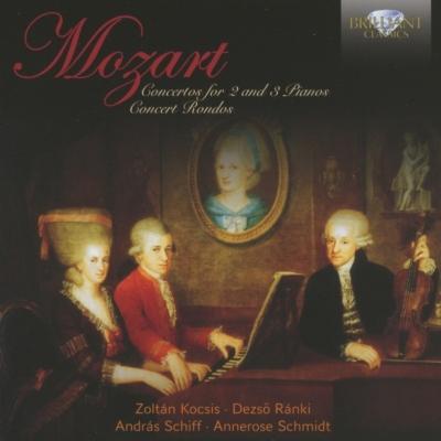 2台、3台のピアノのための協奏曲集(コチシュ、ラーンキ、A.シフ ...