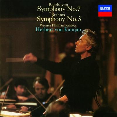 ベートーヴェン:交響曲第7番、ブラームス:交響曲第3番 カラヤン&ウィーン・フィル