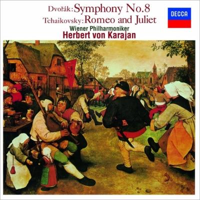 ドヴォルザーク:交響曲第8番、チャイコフスキー:ロメオとジュリエット カラヤン&ウィーン・フィル