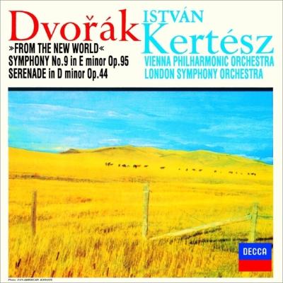 交響曲第9番『新世界より』、管楽セレナード ケルテス&ウィーン・フィル、ロンドン響