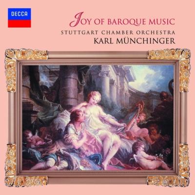 『パッヘルベルのカノン〜バロックの楽しみ』 ミュンヒンガー&シュトゥットガルト室内管