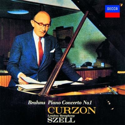 ブラームス:ピアノ協奏曲第1番、フランク:交響的変奏曲 カーゾン、セル&ロンドン響、ボールト&ロンドン・フィル