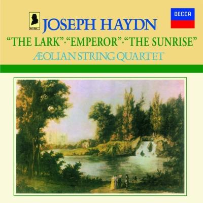 弦楽四重奏曲第67番『ひばり』、第77番『皇帝』、第78番『日の出』 エオリアン弦楽四重奏団
