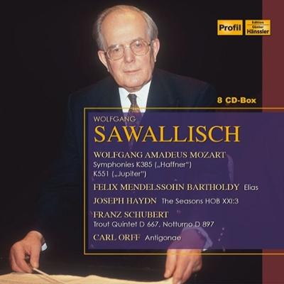 サヴァリッシュ&バイエルン放送交響楽団ライヴ録音集(8CD)