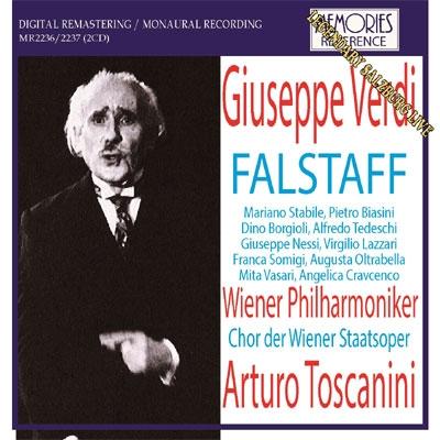 『ファルスタッフ』全曲 トスカニーニ&ウィーン・フィル(1937 モノラル)(2CD)