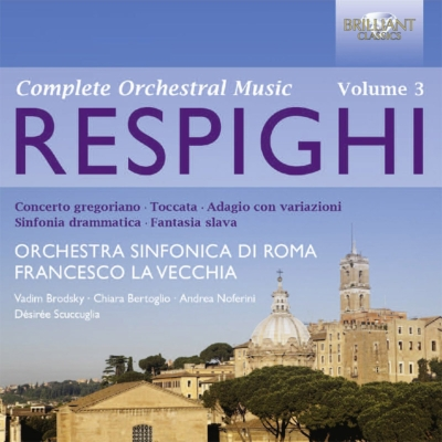 管弦楽曲集第3集〜劇的交響曲、協奏的作品集 ラ・ヴェッキア&ローマ響、ブロドスキー、ノフェリーニ、ベルトーリオ、スクックリア(2CD)