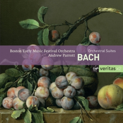 管弦楽組曲全曲、三重協奏曲 パロット&ボストン・アーリー・ミュージック・フェスティヴァル管(2CD)