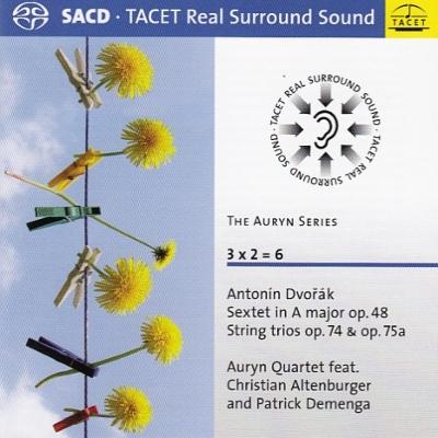 弦楽六重奏曲、弦楽三重奏曲、ミニアチュール アウリン四重奏団、アルテンブルガー、P.デメンガ