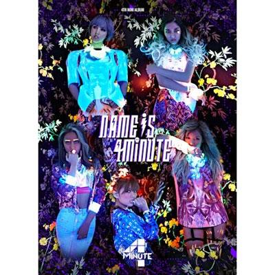 4th Mini Album: Name Is 4Minute