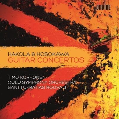 ハコラ:ギター協奏曲、細川俊夫:『目覚め』、『開花II』 コルホネン、ロウヴァリ&オウル響