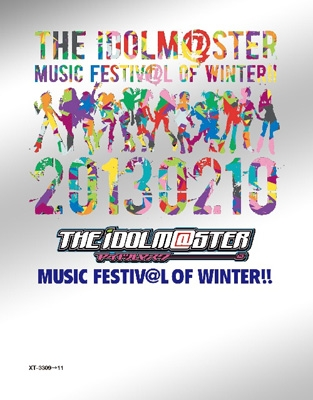 THE IDOLM@STER MUSIC FESTIV@L OF WINTER!! 【Blu-ray BOX 完全初回生産限定 BD3枚組】