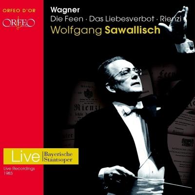 歌劇『妖精』全曲、『恋愛禁制』全曲、『リエンツィ』全曲 サヴァリッシュ&バイエルン国立歌劇場、バイエルン放送響、他(1983 ステレオ)(9CD)