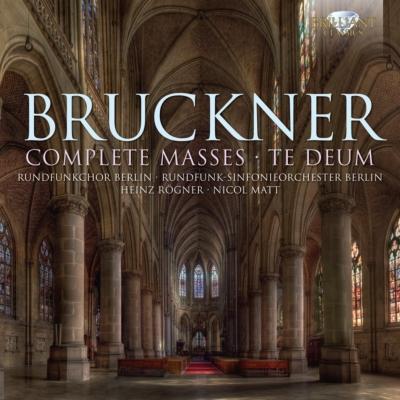 ミサ曲全集、テ・デウム レーグナー&ベルリン放送響、マット&ヨーロッパ室内合唱団、ヴュルテンベルク・フィル(3CD)