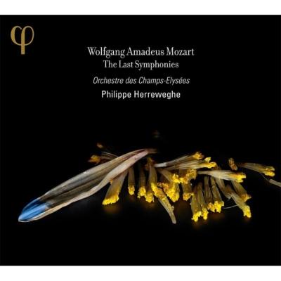 交響曲第39番、第40番、第41番『ジュピター』 ヘレヴェッヘ&シャンゼリゼ管弦楽団(2CD)