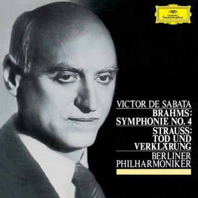 ブラームス:交響曲第4番、R.シュトラウス:死と浄化 サーバタ&ベルリン・フィル