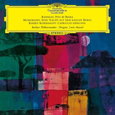 レスピーギ:ローマの松、ムソルグスキー:禿山の一夜、リムスキー=コルサコフ:スペイン奇想曲 マゼール&ベルリン・フィル