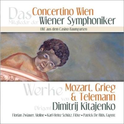Grieg Holberg Suite, Mozart Violin Concerto No.7, Telemann Concerto No.6 : Kitayenko / Concertino Wien