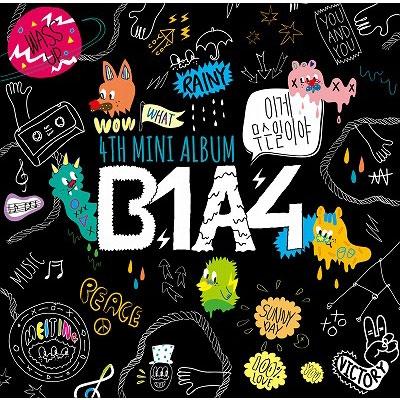 B1A4 4TH MINI ALBUM 〜イゲ ムスン イリヤ〜日本仕様盤 (CD+DVD)
