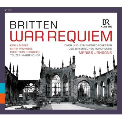 戦争レクィエム ヤンソンス&バイエルン放送響、マギー、パドモア、ゲルハーヘル(2CD)