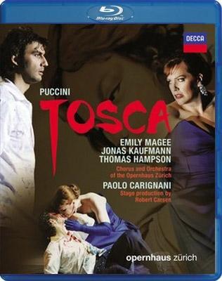 『トスカ』全曲 カーセン演出、カリニャーニ&チューリヒ歌劇場、マギー、カウフマン、ハンプソン、他(2009 ステレオ)