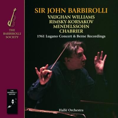 ヴォーン・ウィリアムズ:交響曲第8番、メンデルスゾーン:交響曲第4番『イタリア』、他 バルビローリ&ハレ管(2CD)