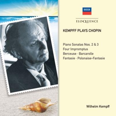 ピアノ・ソナタ第2番、第3番、舟歌、4つの即興曲、幻想ポロネーズ、他 ケンプ(2CD)
