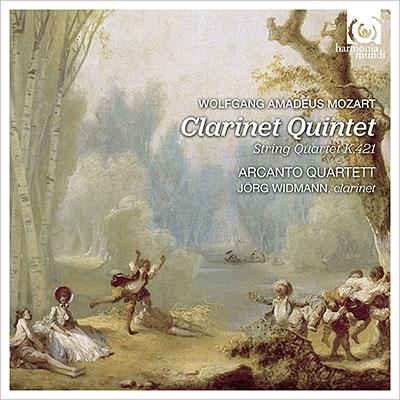 クラリネット五重奏曲、弦楽四重奏曲第15番 イェルク・ヴィトマン、アルカント・カルテット