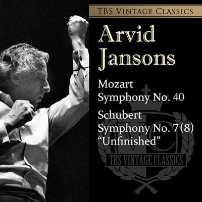 シューベルト:交響曲第8番『未完成』、モーツァルト:交響曲第40番 アルヴィド・ヤンソンス&東京響