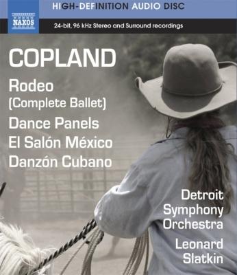 ロデオ、エル・サロン・メヒコ、ダンス・パネル、キューバ舞曲 L.スラトキン&デトロイト響