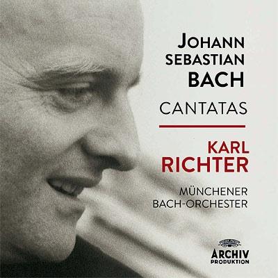 教会カンタータ集(75曲) リヒター&ミュンヘン・バッハ管弦楽団&合唱団(26CD)