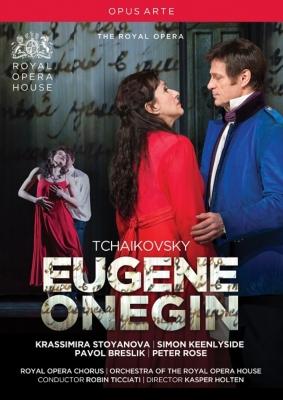 Eugene Onegin : K.Holten, Ticciati / Royal Opera House, Keenlyside, Stoyanova, Maximova, Breslik, etc (2013 Stereo)(2DVD)