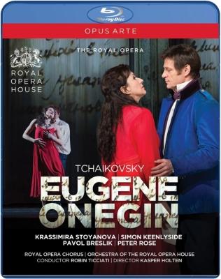 Eugene Onegin : K.Holten, Ticciati / Royal Opera House, Keenlyside, Stoyanova, Maximova, Breslik, etc (2013 Stereo)
