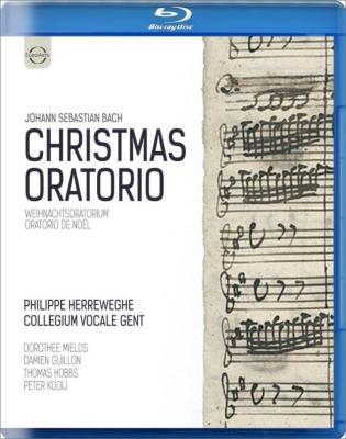 『クリスマス・オラトリオ』 ヘレヴェッヘ&コレギウム・ヴォカーレ(2012)(日本語字幕付)
