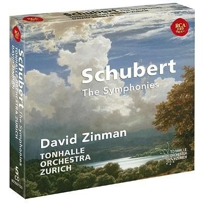 交響曲全集 ジンマン&チューリッヒ・トーンハレ管弦楽団(5CD)