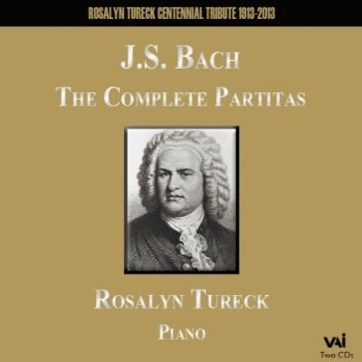 パルティータ全曲 テューレック(1984、89)(2CD)
