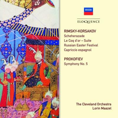 リムスキー=コルサコフ:『シェエラザード』、管弦楽曲集、プロコフィエフ:交響曲第5番 マゼール&クリーヴランド管(2CD)