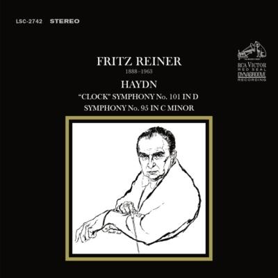 交響曲第101番『時計』、第95番 ライナー&交響楽団