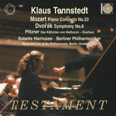 ドヴォルザーク:交響曲第8番、モーツァルト:ピアノ協奏曲第23番、他 クラウス・テンシュテット&ベルリン・フィル、ヒーアホルツァー(1980年ステレオ・ライヴ)