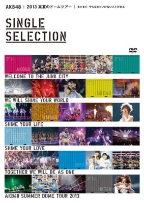 AKB48 2013 真夏のドームツアー 〜まだまだ、やらなきゃいけないことがある〜【SINGLE SELECTION 2枚組DVD】