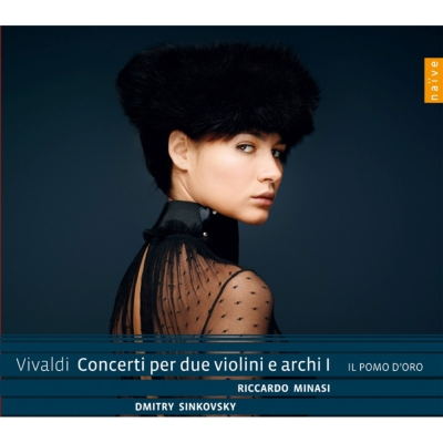 2つのヴァイオリンのための協奏曲集第1集 ミナージ、シンコフスキー、イル・ポモ・ドーロ