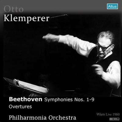 交響曲全集 クレンペラー&フィルハーモニア管弦楽団(1960年ウィーン・ライヴ)(5CD)