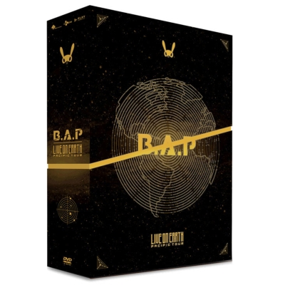 B.A.P LIVE ON EARTH PACIFIC TOUR DVD 【日本盤】