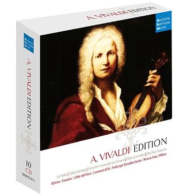 『ヴィヴァルディ・エディション』 オノフリ、ビルスマ、ホグウッド、デア・ゴルツ、フライブルク・バロック管、他(10CD)