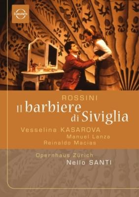 『セヴィリャの理髪師』全曲 アサガロフ演出、ネッロ・サンティ&チューリッヒ歌劇場、カサロヴァ、ランサ、ギャウロフ、他(2001 ステレオ)