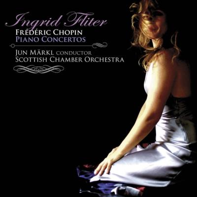 ピアノ協奏曲第1番、第2番 フリッター、準・メルクル&スコットランド室内管