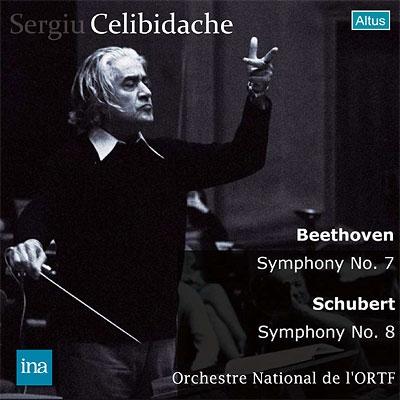 ベートーヴェン:交響曲第7番、シューベルト『未完成』ほか チェリビダッケ&フランス国立放送管弦楽団(1974 ステレオ)(2CD)