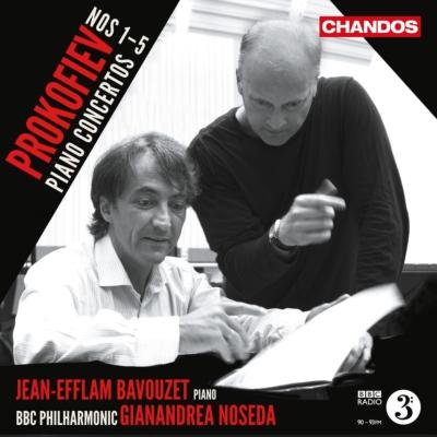 ピアノ協奏曲全集 バヴゼ、ノセダ&BBCフィル(2CD)