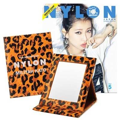 NYLON JAPAN PREMIUM BOX VOL.14 加藤ミリヤ× NYLON JAPAN 10TH アニバーサリー by KAWI JAMELE 限定コラボ折りたたみミラー