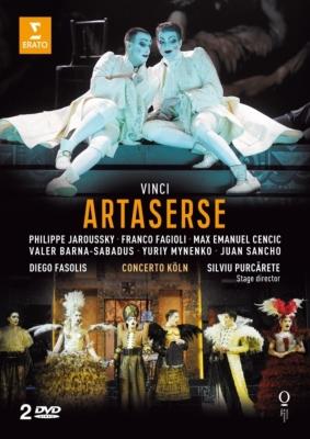 歌劇『アルタセルセ』全曲 プルカレーテ演出、ファソリス&コンチェルト・ケルン、ジャルスキー、ツェンチッチ、他(2012 ステレオ)(2DVD)